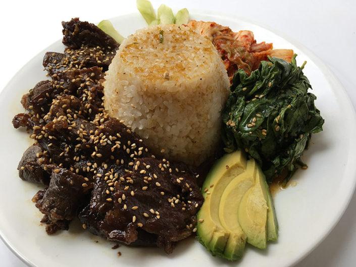 $10 Bulgogi Beef Plate