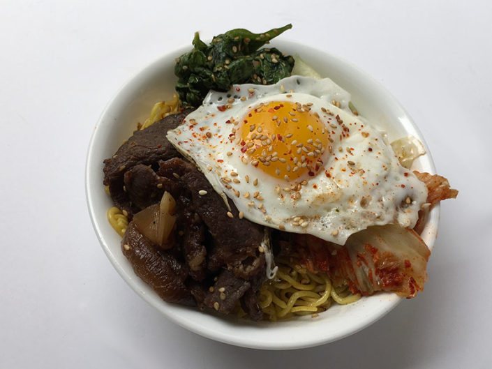 $10 Spicy Beef Noodle Bowl