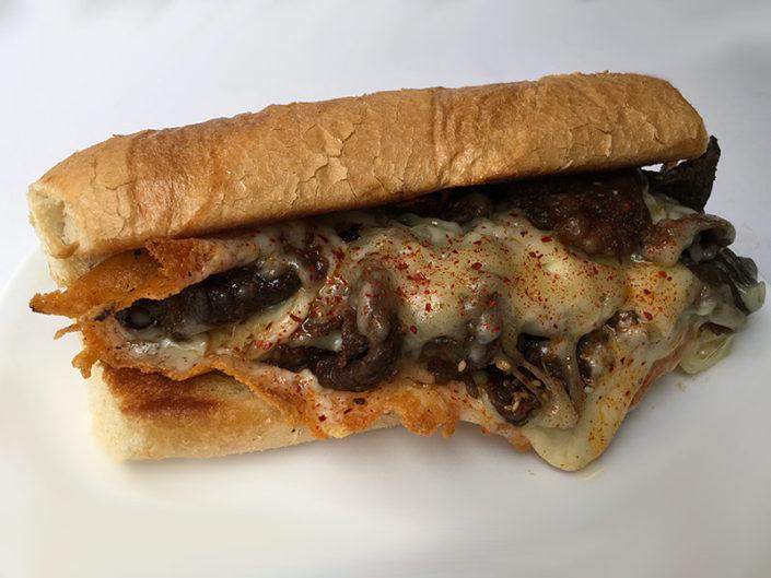 $9 Bulgogi Cheesesteak Sandwich