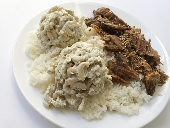 $9 Hawaiian Plate Lunch