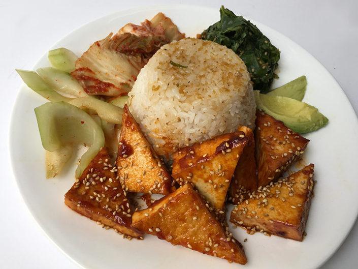 $9 Spicy Tofu Plate
